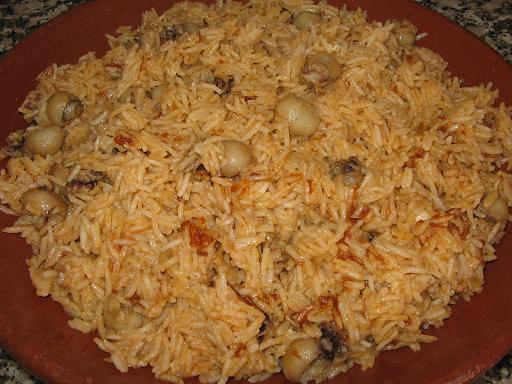 arroz chocos