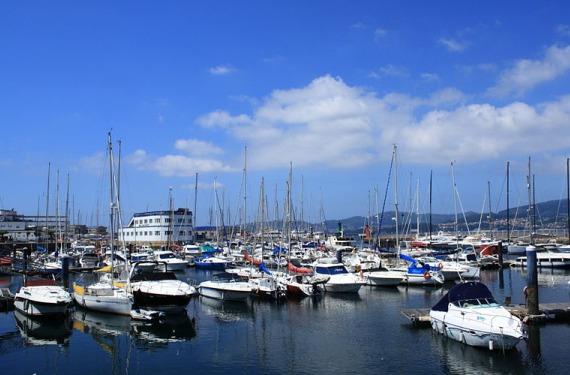 Barcos en Vigo