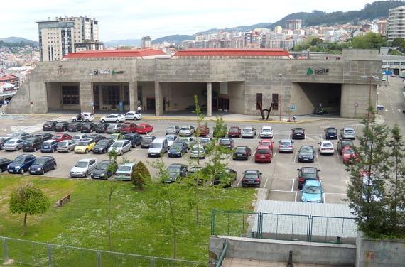 Estación de tren en Vigo