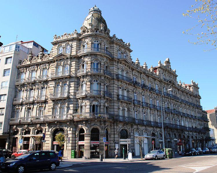 Edificio Bonín en Vigo