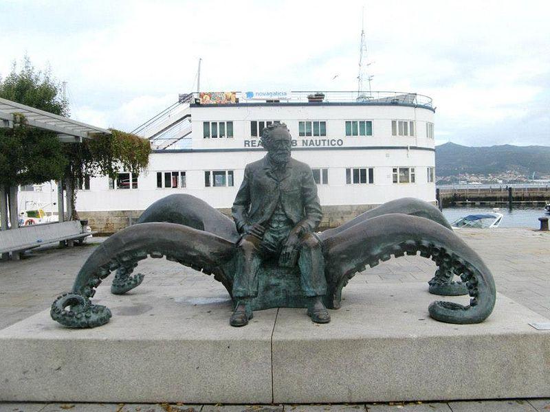 Monumento de Julio Verne
