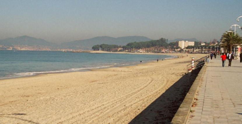 Playa en Vigo