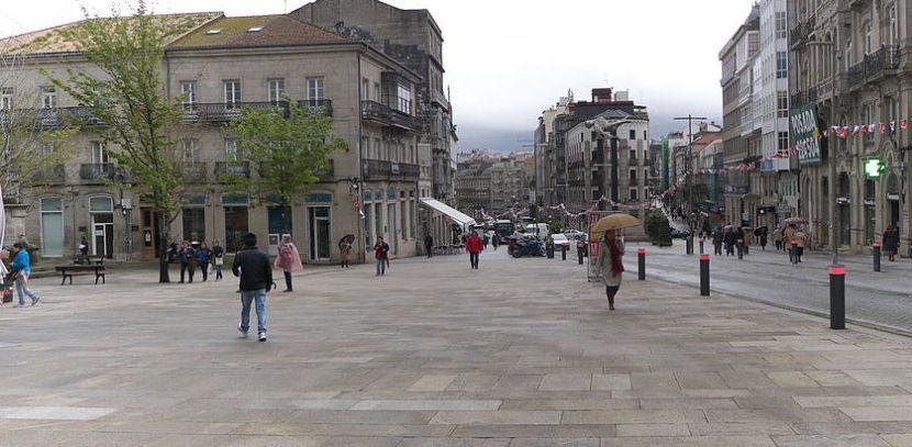 Plaza en Vigo